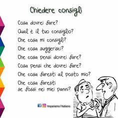 Italian Grammar, Italian Vocabulary, Italian Phrases, Italian Words, Grammar And Vocabulary, Italian Language, Learn Languages Online, Learn To Speak Italian, Italian Colors