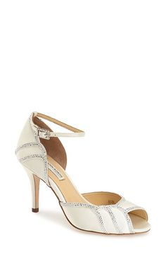 Benjamin Adams London 'Packham' Ankle Strap Pump (Women) available at #Nordstrom