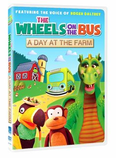 Hop Aboard for Musical, Fun-Filled Adventure with THE WHEELS ON THE BUS: A DAY AT THE FARM - Now Available on DVD -- Enter to win 1 of 3 DVD copies now -- http://www.inspiredbysavannah.com/2014/06/hop-aboard-for-musical-fun-filled.html -- Ends 6/21