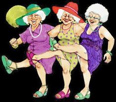 Animated Gif by anitanna anitanna Old Lady Dancing, Bisous Gif, Funny Old People, Funny Emails, Old Lady Humor, Art Impressions Stamps, Dance Paintings, Country Girl Quotes, Cartoon People