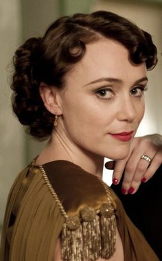Keeley Hawes as Lady Agnes Holland (Upstairs, Downstairs BBC Best Period Dramas, Period Drama Series, British Period Dramas, Denis Lawson, Romantic Series, Jane Austen Movies, Gavin And Stacey, Famous Novels, Tv Couples