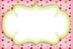 Imágenes de Frutillitas para etiquetas candy bar stickers tarjetas invitaciones de cumpleaños