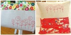 contemporary embroidery designs   Modern Poppies - Machine Embroidery Designs   modern embroidery