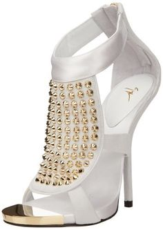 7f7f91f68fdd Giuseppe Zanotti (not a lover of white heels but these are gorgeous.
