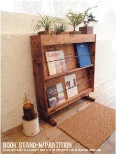 Cabinet パーティーション ブックスタンド キャビネット アンティーク インテリア 雑貨 家具 Antique ¥45000yen 〆05月12日