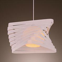 Modern Creative 1 Light Pendant with Artistic Shade - EUR € 78.37