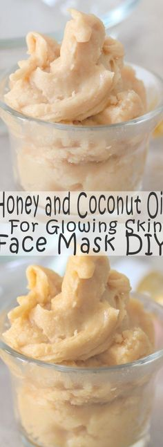 Honey and Coconut Oil Glowing Face Mask - Savvy Naturalista face mask face mask face mask mask acne mask coffee mask diy mask homemade mask pattern mask soda Glowing Face Mask, Diy Face Mask, Glowing Skin, Diy Hacks, Green Tea And Honey, Piel Natural, Natural Honey, Natural Skin, Diy Skin Care