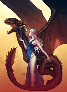 Daenerys Targaryen - Khaleesi, The Unburnt, Mother of Dragons...