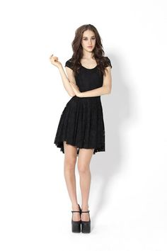 Evil Cheerleader Lace Dress - Black Milk    http://blackmilkclothing.com/collections/dresses/products/evil-cheerleader-lace-dress