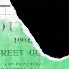 Houston 1904 Street Guide :: Maps