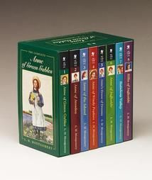 The Complete Anne of Green Gables Boxed Set  Favorites for nearly 100 years, these classic novels follow the adventures of the spirited redhead Anne Shirley, who comes to stay at Green Gables and wins the hearts of everyone she meets.