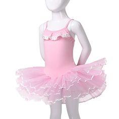 dancewear único algodón / spandex vestido de ballet rendimiento para los niños más colores – USD $ 34.99
