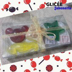 Regalitos de jabón de glicerina para el Día de l@s niñ@s!!