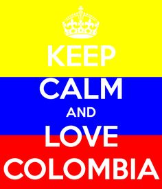 Keep Calm And Love Colombia for all the football fans