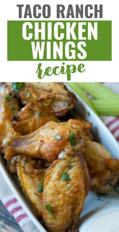 Ranch Wings Recipe, Party Wings, Holiday Party Appetizers, Fried Chicken Wings, Ranch Chicken, Breakfast Snacks, Chicken Wing Recipes, Big Game, Appetizer Recipes