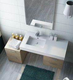 Lavabo Design da Appoggio Zenko in Ceramica cm 40x34x14,5 | casa ...