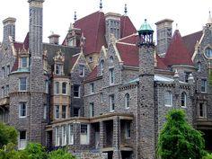 Boldt Castle on Heart Island, Thousand Islands, NY