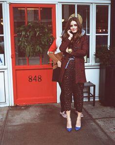 The Olivia Palermo Lookbook : Backstage with Olivia Palermo