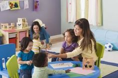 what to know to pick the best family-daycare provider. In-home daycare gives you a less expensive childcare option and your baby the benefits of home. Here is what you need to know about family-daycare providers. Learn more about childcare and parenting Education English, Elementary Education, Childhood Education, Higher Education, Special Education, Exit Games, Notes Tumblr, Starting A Daycare, Home Daycare