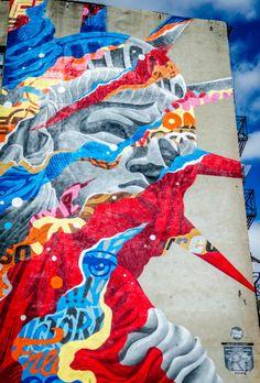 Street Art in Little Italy - NYC