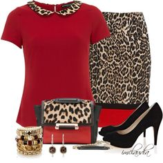 """Leopard and Red"""
