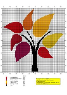Arbre.jpg - This is for cross stitch, I think. But it would be great knitted as a blanket!