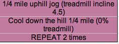 hill workout part 1