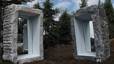 ''Reflection''.  Material: Marble  Dimensions: 155×100×66 135×80×66 Greece, 2014
