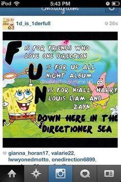 """All directioners should know this parody of the """"F.U.N"""" song!;)"""