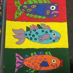 La individualidad: todos son peces pero no son todos iguales.  Tù eres único / You are unique