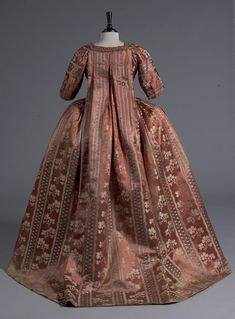 Robe a la Francaise, 1770' Kerry Taylor Auction