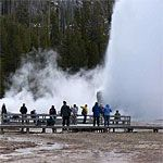 Yellowstone National Park.  Old Faithful is a must see here!