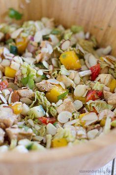 Mango Chicken Salad - Taste and Tell