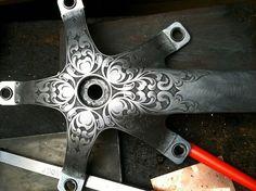 crank engraving ~ nice