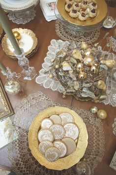 Atop a cookie swap, from Julia M. Usher