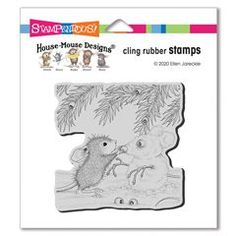Cling Snowmouse Rubber Stamp - This rubber stamp was recently purchased off from our web site. Click on the image to see more information. Calendar Pictures, 5 Gifts, House Mouse, Note Cards, Design Projects, Cardmaking, Ecards, Christmas Cards, Folk