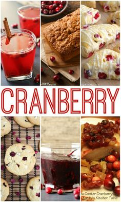 Awesome Cranberry Recipes!