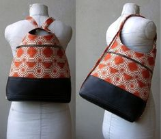 cross body backpack purse -no instructions, just observed hands construction Google Search