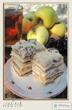 Торт с яблок