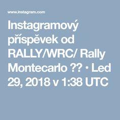 Instagramový příspěvek od RALLY/WRC/ Rally Montecarlo 🇮🇩 • Led 29, 2018 v 1:38 UTC