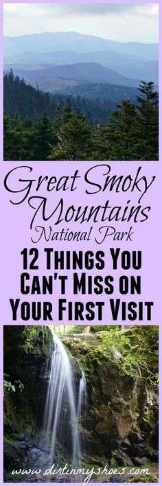 You definitely don't want to miss these 12 things to do in Great Smoky Mountains National Park! This is a great guide to the park!
