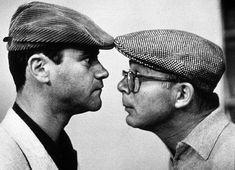 """Jack Lemmon y Billy Wilder durante el rodaje de """"El apartamento"""" (1960)."""