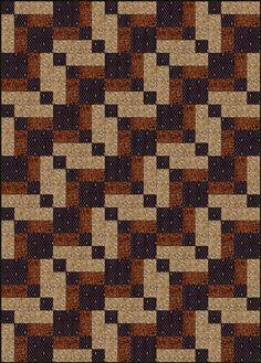 Free Quilt Patterns : Bonnie Scotsman Quilt Block & Quilt Pattern