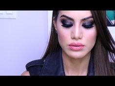 """Rocker"" Smokey Eye using DRUGSTORE Makeup   Makeup Tutorials and Beauty Reviews   Camila Coelho - YouTube"
