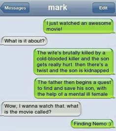 Haha too funny!