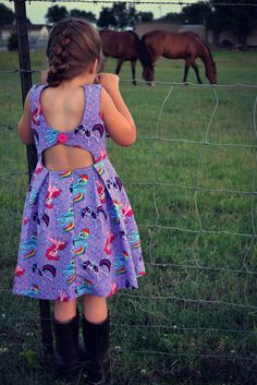 Rebel Girl Party Dress - PDF Sewing Pattern by Bella Sunshine Designs for sizes 12m through girls 12 - I love the cutout in the back of this dress, and the pleated skirt makes it look classic. My daughter would look adorable in this. Repining for later!