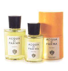 【アクア ディ パルマ コロニア オーデコロン 50ML】オードリー・ヘップバーンやケリー・グラントが愛用していたことで有名。ユニセックスの香りは、シシリーシトラス、ラベンダー、ローズマリー、ベルベナ、ローズ等。癖の無いシトラス系の香り。