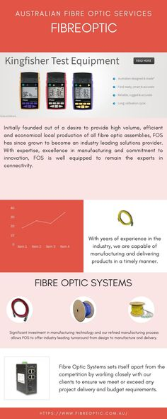 Fibre Optic Systems(FOS) is a fibre optic supplier & manufacturer in Australia, specialising in fibre optic cords, cables & fibre optic test equipment