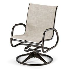 Telescope Casual Gardenella Swivel Rocking Chair (Set of 2) Finish: Textured Desert, Fabric: Preston