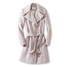 white coats are my favorite for fall